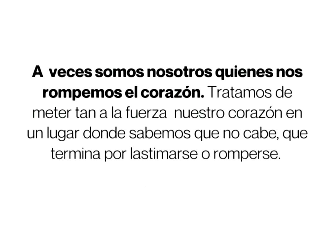 See a recent post on tumblr from @navegandoenletras about frases de corazon roto. Corazon No Explore Tumblr Posts And Blogs Tumgir