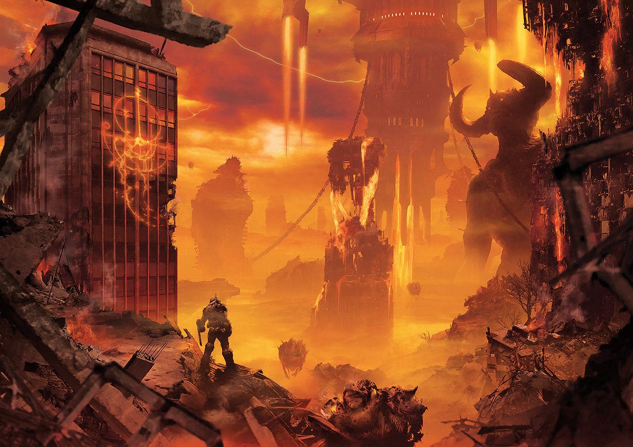 pixalry doom eternal poster