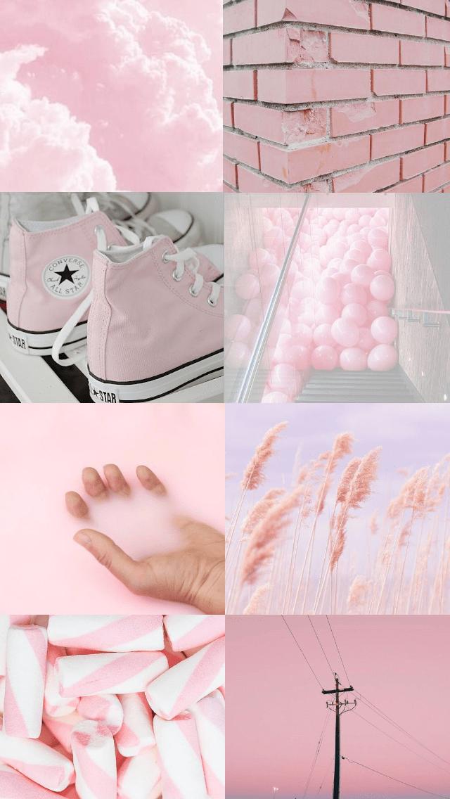 Aesthetic Baby Pink Background : aesthetic, background, Pastel, Background, Lockscreen