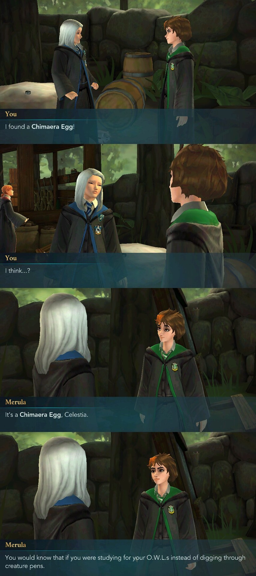 Hogwarts Mystery Owls : hogwarts, mystery, Hogwarts, Mystery, Kinda, Worried, About, O.W.L.S., Out...