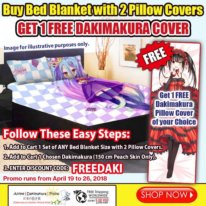 anime dakimakura pillow
