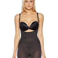 Wear Your Own Bra Waist Thigh Slimming Bodysuit Shapewear. 360 degrees of shaping targeting love handles and the dreaded Muffin Top effect. Eliminates bra bulge and improves posture. Maximum comfort and freedom of movement. Great for special-occasion dresses. Tue, 13 Jul 2021 09:36:49 +0400