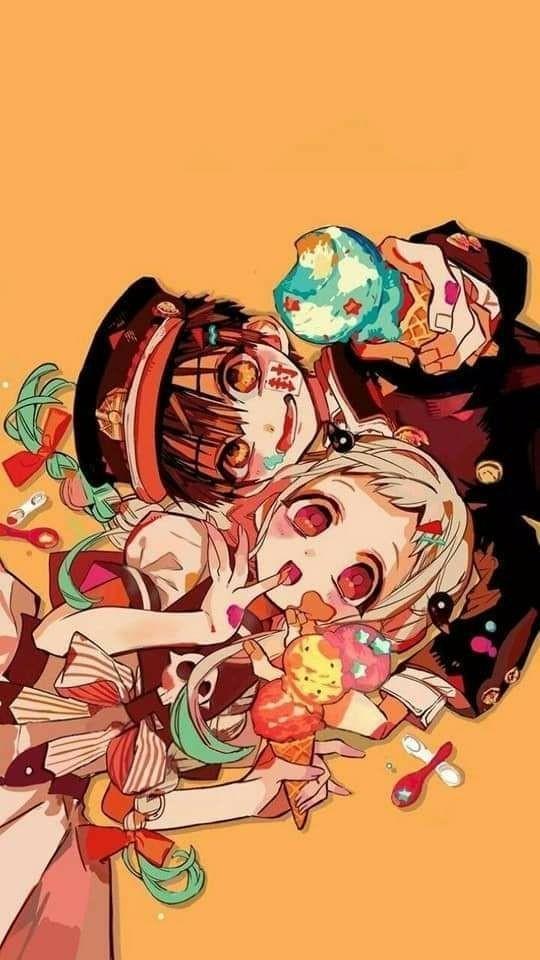 Does hanako have a crush on yashiro? found them btw | Tumblr