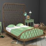 Leo Sims Cc Bamboo Bed Frame Empty Bed Frame Can Be Used