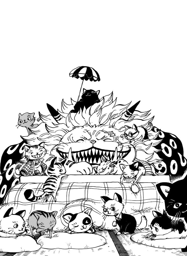 One Piece 861 Spoiler : piece, spoiler, Nekomamushi, Curling, Inside, Kotatsu, Surrounded...