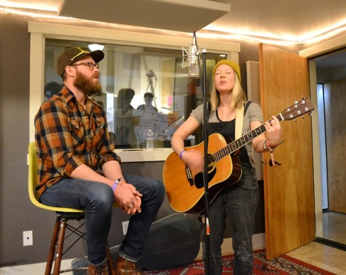 Nashville Country artist Liza Day shined on Sunday during our warm and cozy Singer-Songwriter Showcase in the Live Room. -dig #RadioBoiseAlive #Treefort2019