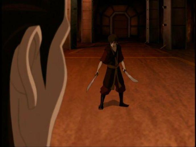 Zuko confronts Ozai