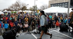 Even in the early Sunday rain, Yogafort and the Corevette Dance Collective's amateur Dance Battle saw some legendary moves busted on the Radioland Stage. (Congrats to fan fav. Abby for winning the contest!) -dig #RadioBoiseAlive #Treefort2019 #MediaSponsor