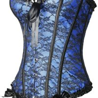 Women Emboridery Blue Corset Top Sexy Lingerie Sets. Perfect for parties,cosplay,club, a night out, or a bedroom lingerie. Mon, 11 Jan 2021 04:48:32 +0400
