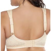 Women's Full Figure Comfort Wire Free Minimizer Support Bra. Light, unlined cup without padding, show the natu ral shape. No underwire, no burdens, no pressure on your breast, comfortable with it for a day. Full coverage, cover mos t of your breast. Especially fit for women with full figure. Tue, 08 Sep 2020 14:24:40 +0400