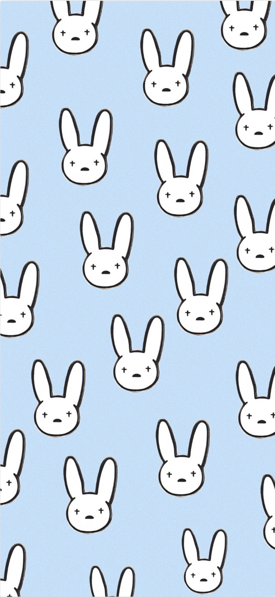 Bad Bunny Logo Wallpaper : bunny, wallpaper, LOCKSCREENS,, BUNNY, REQUESTED, Don't, Any...