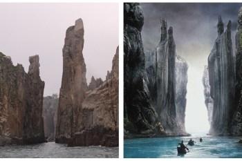 [迷戀東引島] 海上看東引。無比壯麗媲美魔戒的場景