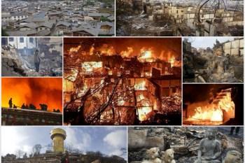 [失火的天堂] 香格里拉古城焚燬。獨克宗旅遊記憶