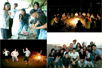 慶祝十年!夕陽烤肉派對,群魔亂舞的沙灘營火晚會