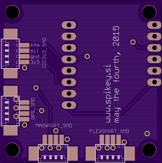 CC3D addon board back