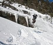 WhiteRoom Skis action shot
