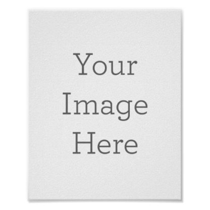 create-your-own blank poster