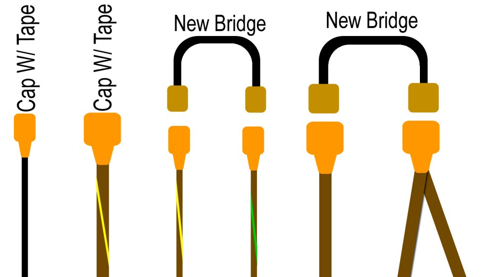 medium resolution of i also didn t cut any of the original wires instead i used corresponding connector pins to create the jumps bridges between wires i had to fashion my