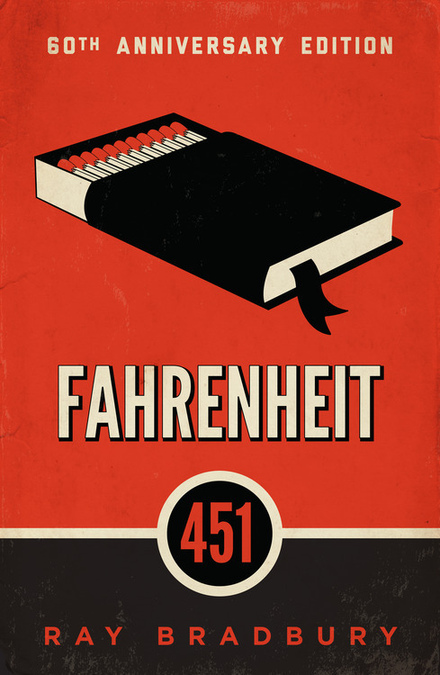 Image result for fahrenheit 451 book cover