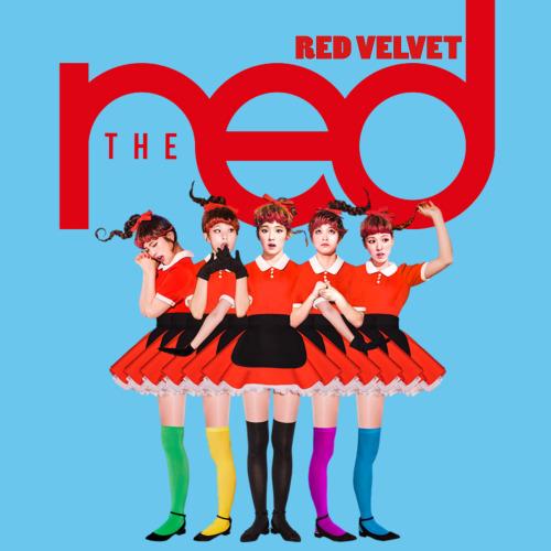Imagini pentru red velvet kpop album cover