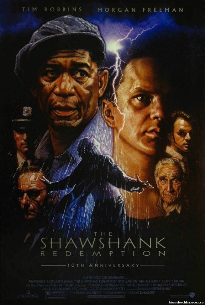 The Shawshank Redemption,Esaretin Bedeli,1994,Frank Darabont, Tim Robbins,Andy Dufresne,1994,Morgan Freeman,Ellis Boyd 'Red' Redding,Побег из Шоушенка,142 Dak., ABD,Frank Darabont,Stephen King,Imdb Top List,Sinema Klasikleri,Nostalji Film,Film Afişleri,sinema afişleri,poster,film posterleri,klasik poster,poster çeşitleri,afişler,nostalji sinema afişleri,