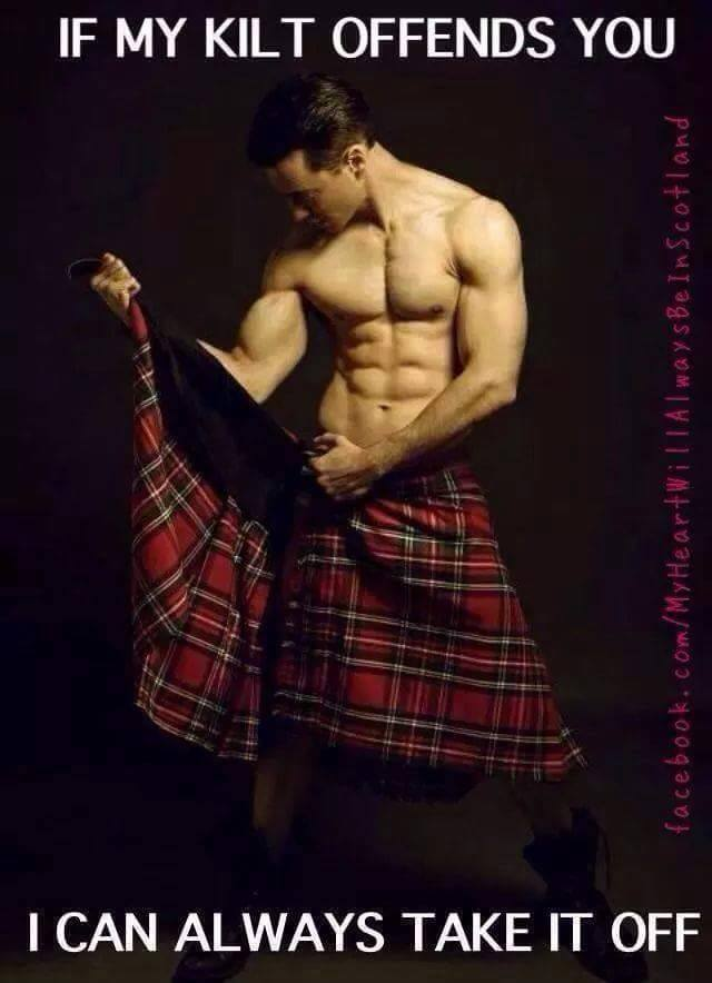 Image result for image of sexy scot in a kilt
