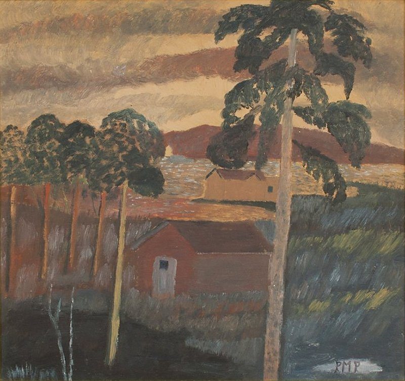 """lilithsplace: """" title unknown - Primus Mortimer Pettersson, (1895–1975) oil painting 