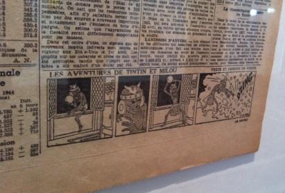 Episode from Tintin: Les Sept Boules de Cristal by Hergé