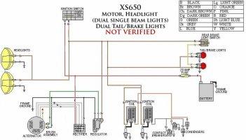 xs650 bobber wiring diagram - wiring diagram, Wiring diagram
