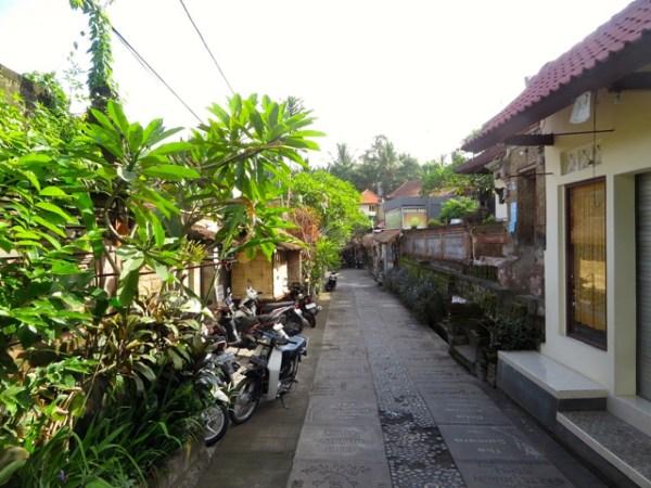 Bali 2 way street
