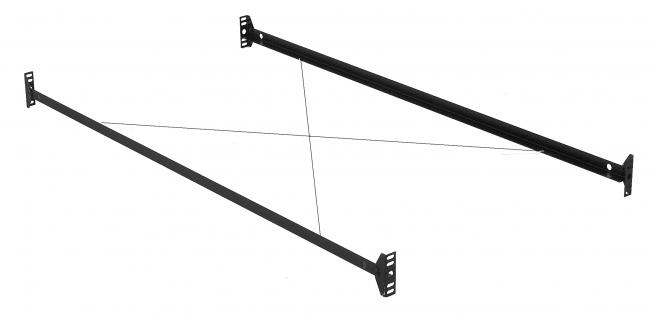 Leggett Amp Platt Bolt On Bed Rails For TwinFull Bed Frame