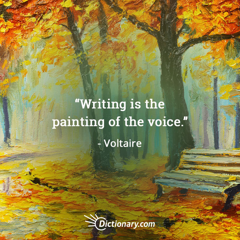 writing is the painting of the voice quote ile ilgili görsel sonucu