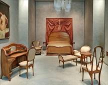 Art Nouveau Style -monde-de-papier Mobilier