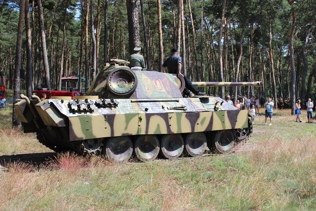 Welcome to the Motorpool — bmashina: Replica Of The Pz.Kpfw.Panther Ausf.A....
