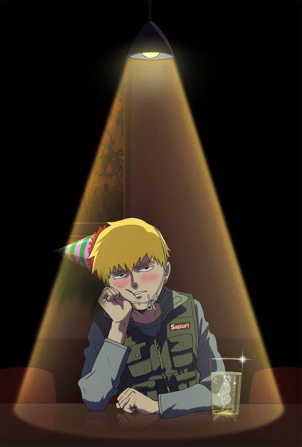 Un nuevo â ???? Mob Psycho 100 IIâ ????  Anime visual para octubre ha sido lanzado.  Las actualizaciones mensuales continuarán hasta que su transmisión comience en enero de 2019.