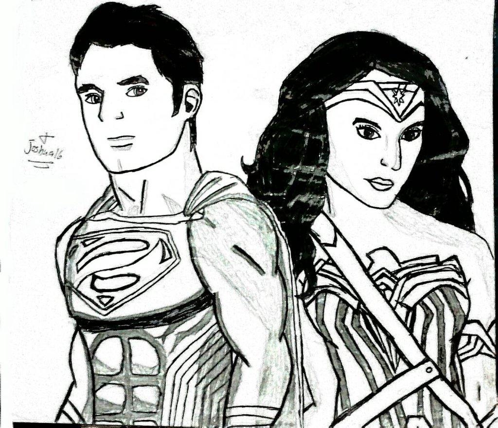 Hell Yeah Superman N Wonder Woman Batman V Superman