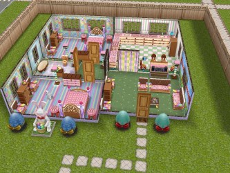 sims freeplay designs pretty easter