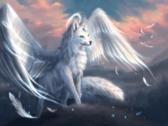 35+ Ideas For Cute Galaxy Wolves With Wings Lee Dii