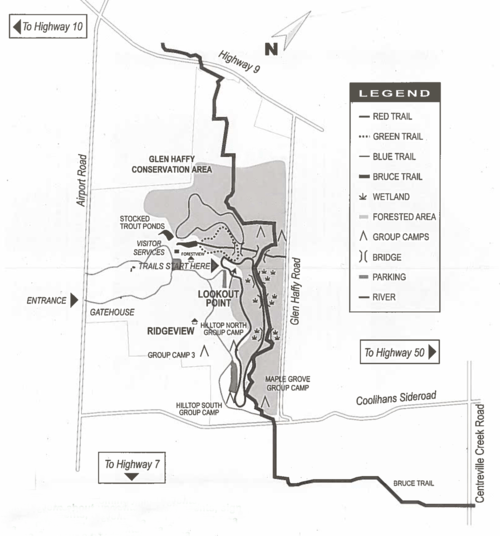 On the Trails Part 1: Glen Haffy Conservation Area