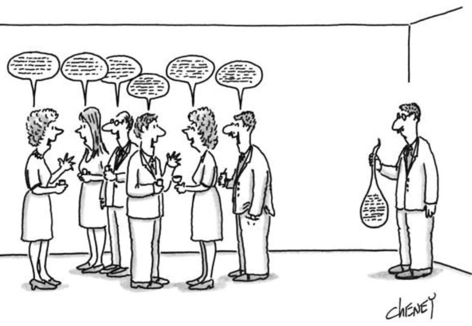ABA Everyday — Love this cartoon. Perfectly illustrates