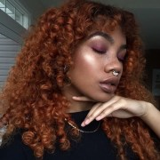 black girls with ginger copper