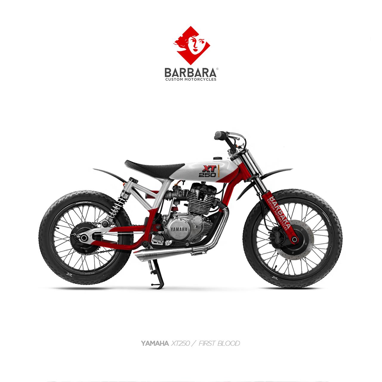 Barbara Motorcycles Yamaha Xt250