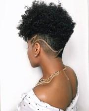 natural hair undercut
