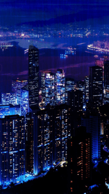 Woowpaper Aesthetic City Lights Wallpaper Iphone