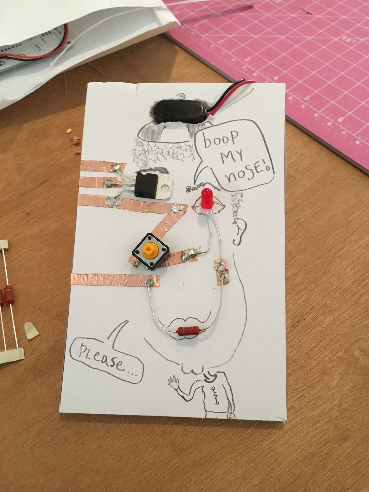 hight resolution of i built this suave boopster in our intro to circuits class and then the electrical engineering