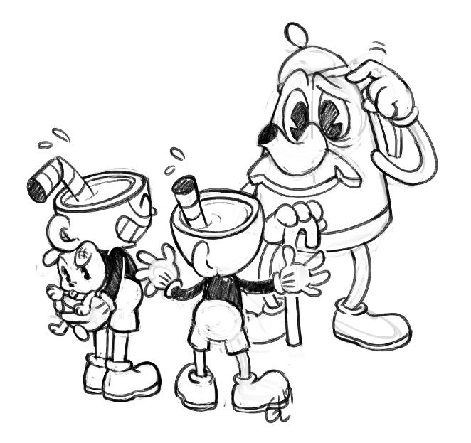 Guia's Art n' Stuff, Bunch of random twitter doodles of