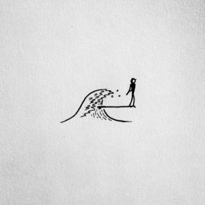 drawing surf tattoo simple sketches doodle sketch zeichnungen newport surfed weekend been freunde karlsson davidrollyn pudel seine dibujos shițe couple