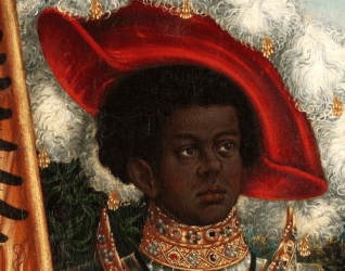 european medieval poc history germany depictions maurice saint