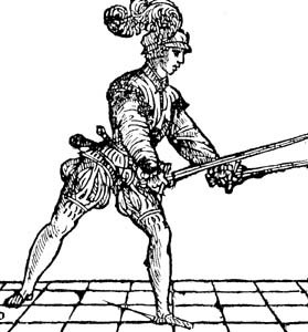 Historical Fighting Guide — Dual wielding/using a case of