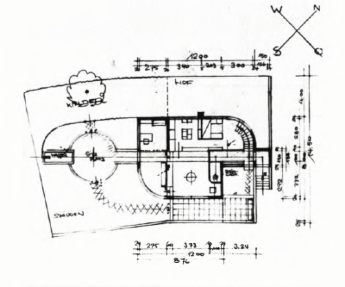 Design is fine. History is mine. — Hans Scharoun, House of